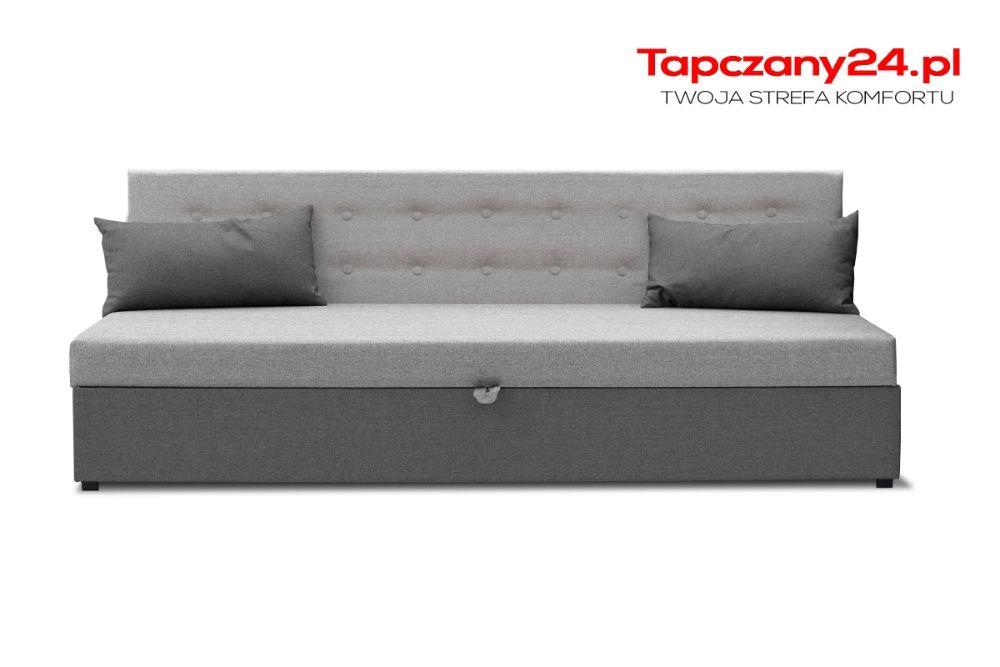 Łóżko młodzieżowe pojedyncze dla dziecka hotelowe 80cm Tapczan MATERAC