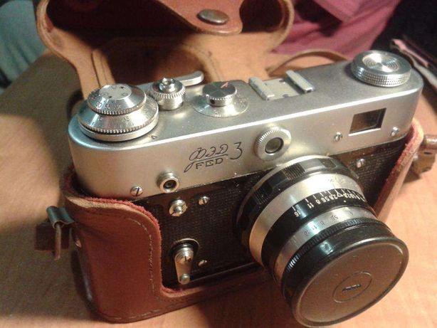 Фотоаппарат ФЭД 3 FED ФЕД + экспонометр + штатив
