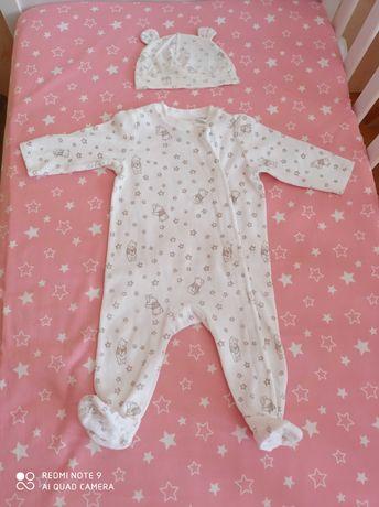 Pajac piżama h&m rozmiar 62