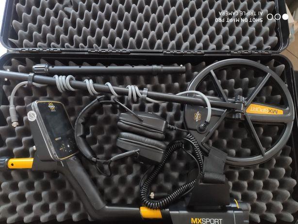 Wykrywacz metali White's MX Sport + extra słuchawki + walizka