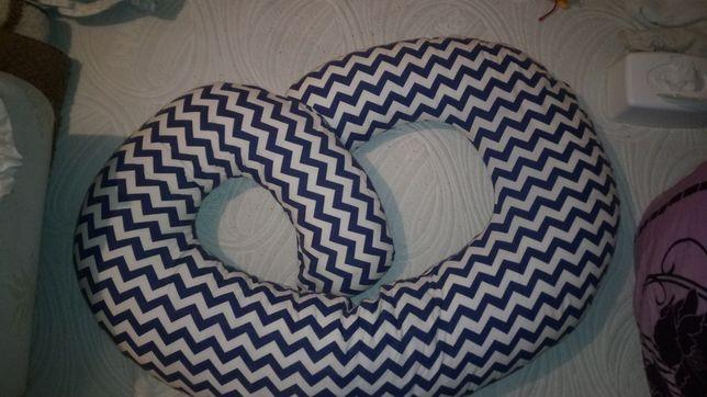 Poduszka rogal do karmienia ciążowa