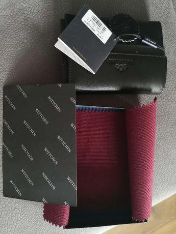 Czarny, skórzany portfel wittchen