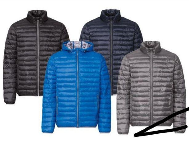 Продам мужскую куртку пуховик S/M 48