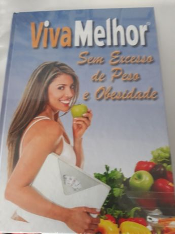 Livro viva melhor sem excesso de peso e obesidade