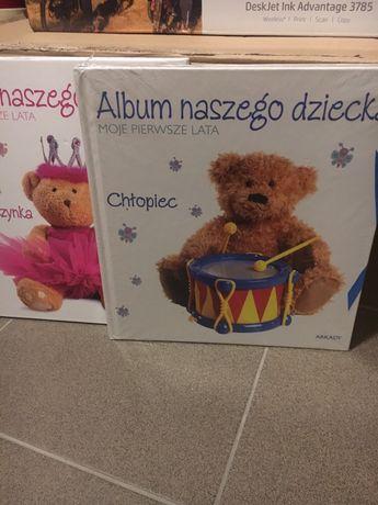 Album naszego dziecka w wersji dziewczęcej i chłopięcej