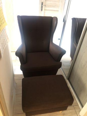 Fotel z podnózkiem