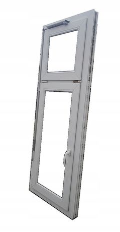 OKNA KacprzaK OKNO PCV 66X182 Używane Plastikowe