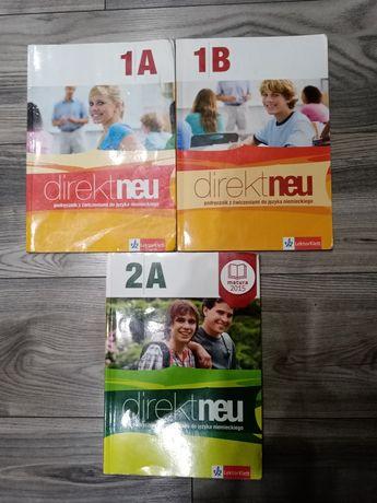 Direkt neu 1A, 1B, 2A podręcznik z ćwiczeniami
