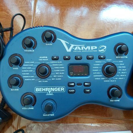 Guitarra - V amp 2 - behringer
