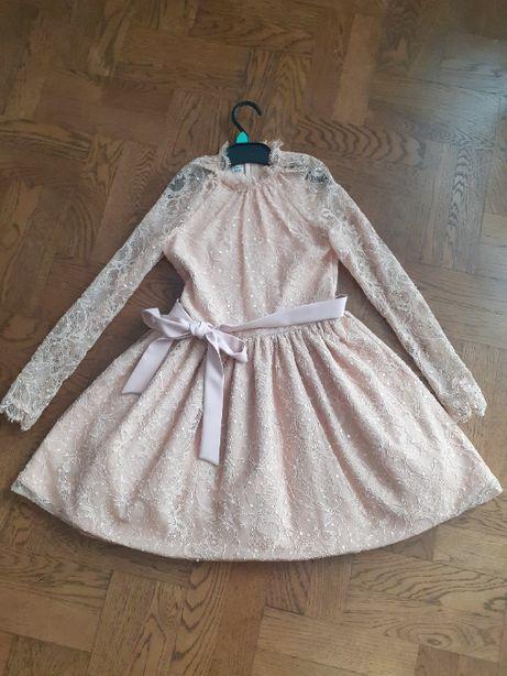 Sukienka lou dziewczęca