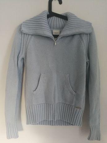 Sweterek NEXT rozmiar M błękitny piękny jak nowy