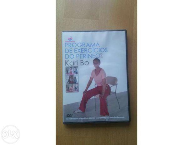 DVD com exercícios para o períneo - portes pagos