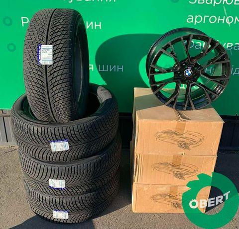 Диски R20 + зимняя шина Michelin + датчики давления на BMW X5 X6 X7