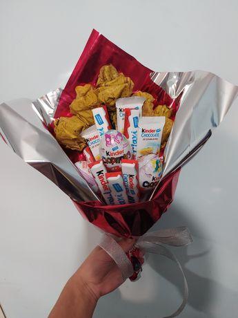 Букети фруктові, букети солодкі з цукерок