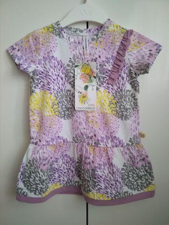 Nowa sukienka Coccodrillo 68