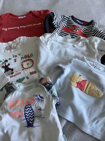 Bluzeczki dziecięce rozmiar 56-62