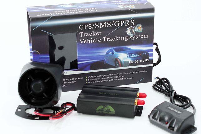 GPS103 localizador Genuino de veículos, escuta e corte de corrente