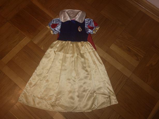 Sukienka Królewny Śnieżki Królewna Śnieżka Disney roz.5-7lat(110-122cm