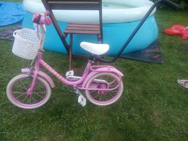 Rowerek 12 cali dla dziewczynki