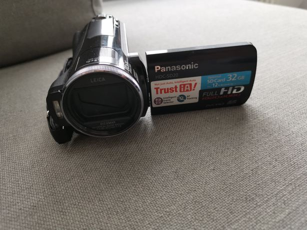Panasonic kamera HDC-SD20 lekka mala