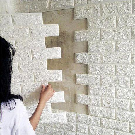 3д панели, 3д обои, 3d самоклеющиеся панели для стен, под кирпич ТОП!