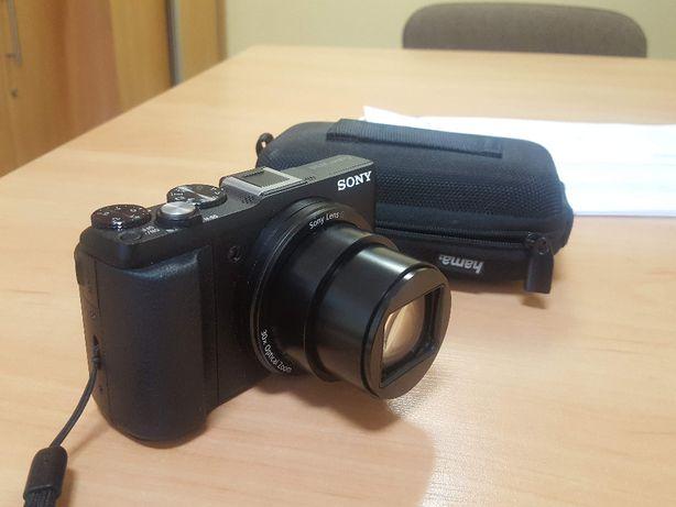Aparat cyfrowy SONY Cyber-shot DSC-HX60 + karta pamięci + etui