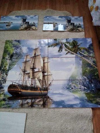 Плитка декор корабль 6тыс руб 25 на 50см размер одной плитки