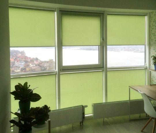 Жалюзи, рулонные шторы (тканевые ролеты)
