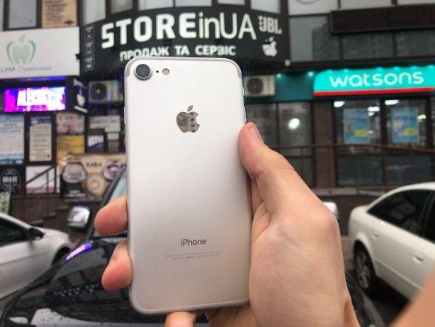 Айфон 7 32гб белый/ iPhone 7 32gb silver Гарантия 3 месяца от магазина