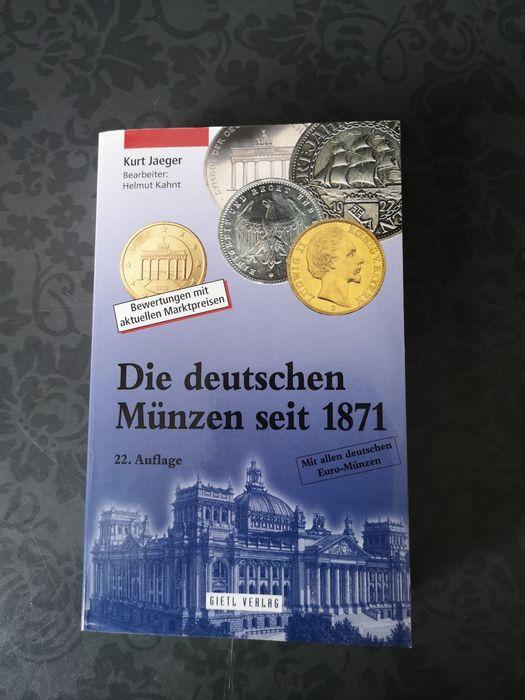 Książka Katalog Monet Niemieckich 1871 Skarby Marki Fenigi III Rzesza Świebodzin - image 1