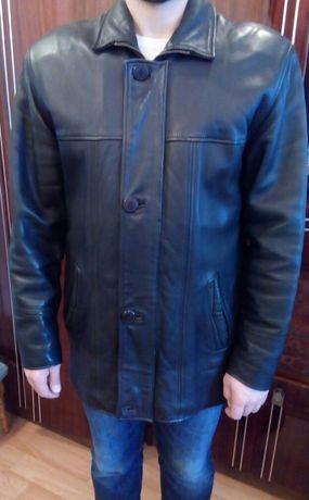 Куртка мужская, кожаная 50-52 р. Весна-зима-осень