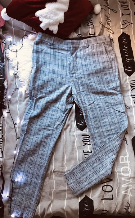 Spodnie chinosy meskie h&m Warszawa - image 1