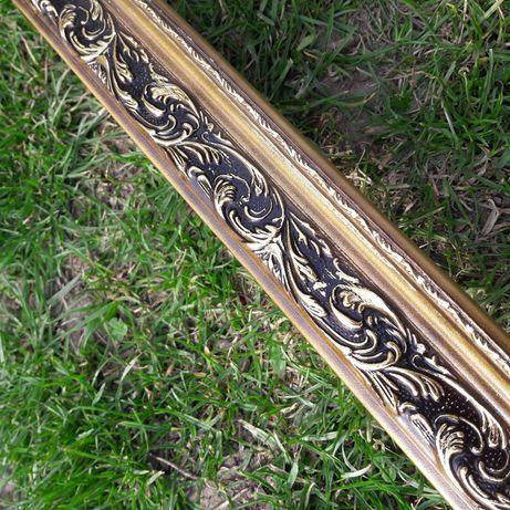 Багет деревянный для картин золото бронза 4см