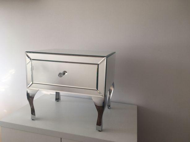 Szafka szafki nocne sypialnia z lustrem lustrzana