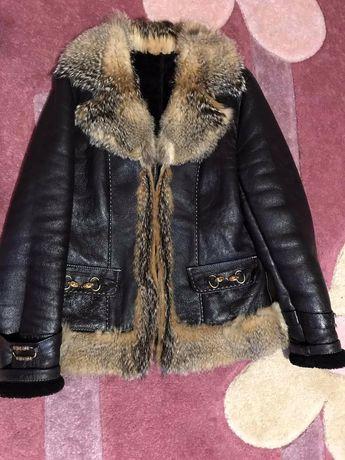 Дубленка / куртка меховая женская