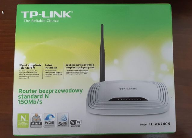 Router bezprzewodowy TL-WR740N