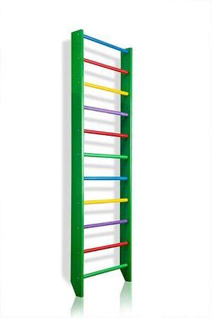 Drabinka gimnastyczna GREEN super kolory 220x80 lub 240x80 Producent