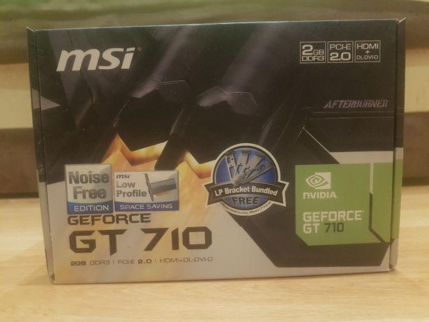 Karta graficzna MSI GeForce GT 710 2GB GDDR3 Low Profile