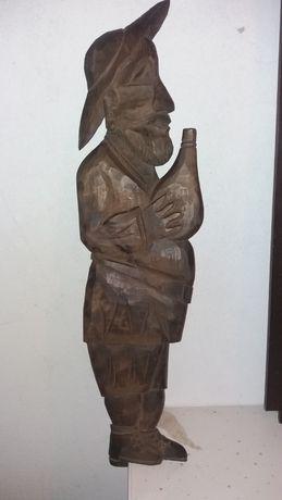Escultura_Quadro Em Madeira feito á mão