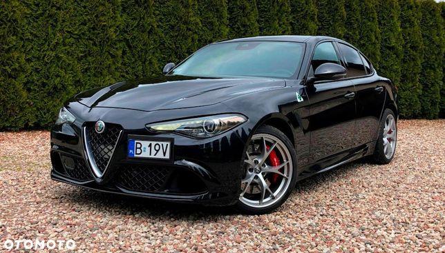 Alfa Romeo Giulia 2.9 QUADRIFOLGIO, 510 KM, Jak nowa, stan PERFEKCYJNY,