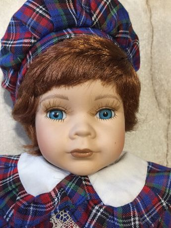Фарфоровая кукла ,лялька 36см