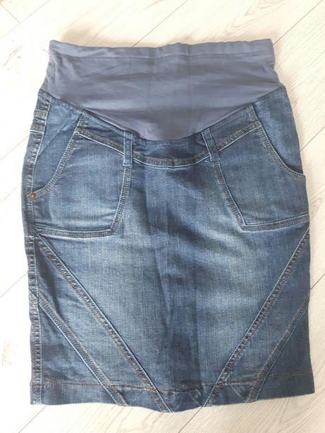 Ciążowa spódnica jeansowa