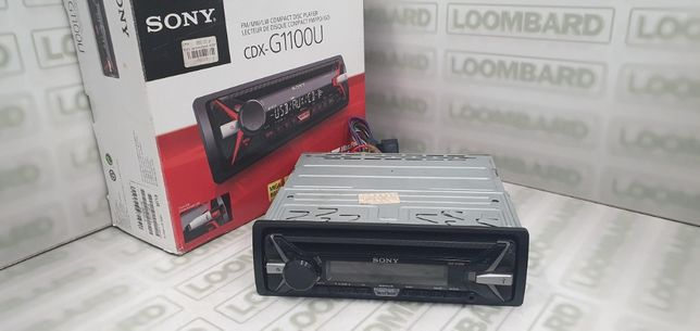 RADIO SAMOCHODOWE CDX-G1100U od Loombard Jarocin Śródmiejska 31