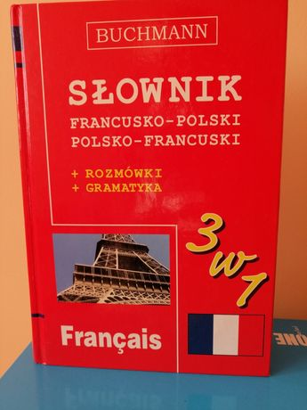 Słownik + rozmówki + gramatyka słownik francusko-polski