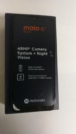 Telefon Smartfon Motorola Moto E7 PLUS 4/64 GB NOWY Gwarancja 2 lata