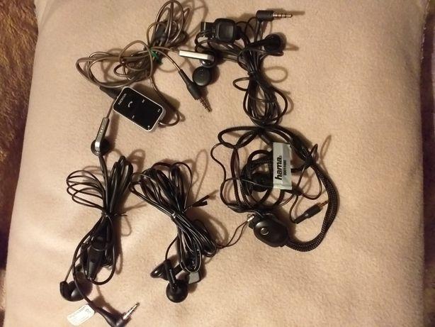 Sprzedam orginalne słuchawki do telefonów, komputera sprawne Nokia