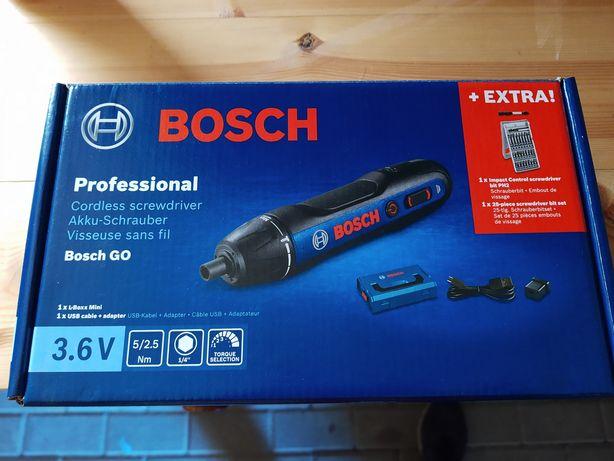 Bosch Go zestaw wkrętak akumulatorowy