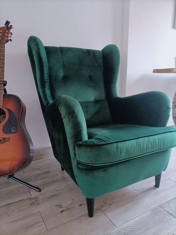 Fotel butelkowa zieleń bdn
