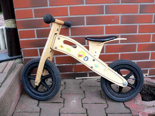 Rowerek biegowy KINDERKRAFT koła 12 cali - Warto jak nowy !!