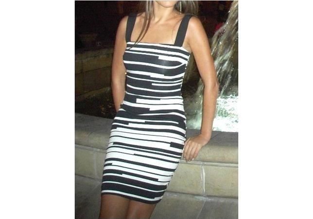Sukienka midi MANGO dla ASOS XS 34
